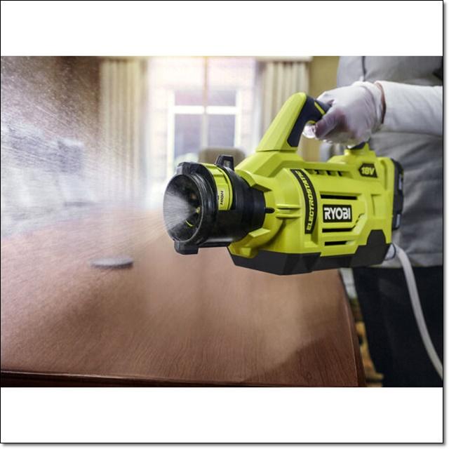 Ryobi Cordless 1 Gallon Electrostatic Sprayer - DSRY1GEB